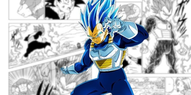 Dragon Ball Super Teases Vegeta's New Powers Technique Manga 60