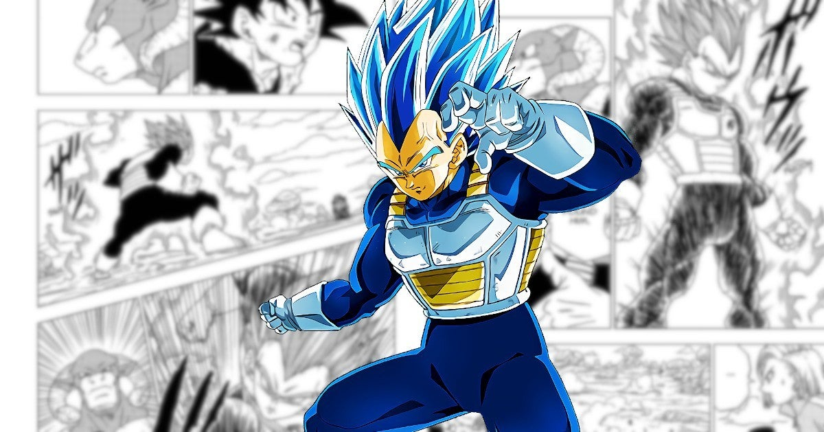 Dragon Ball Super Teases Vegeta's New Powers Technique Manga 60