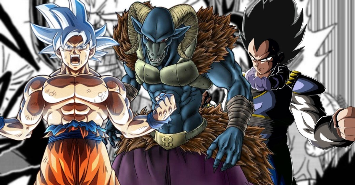 Dragon Ball Super Ultra Instinct Goku Vegeta Moro Anime Manga
