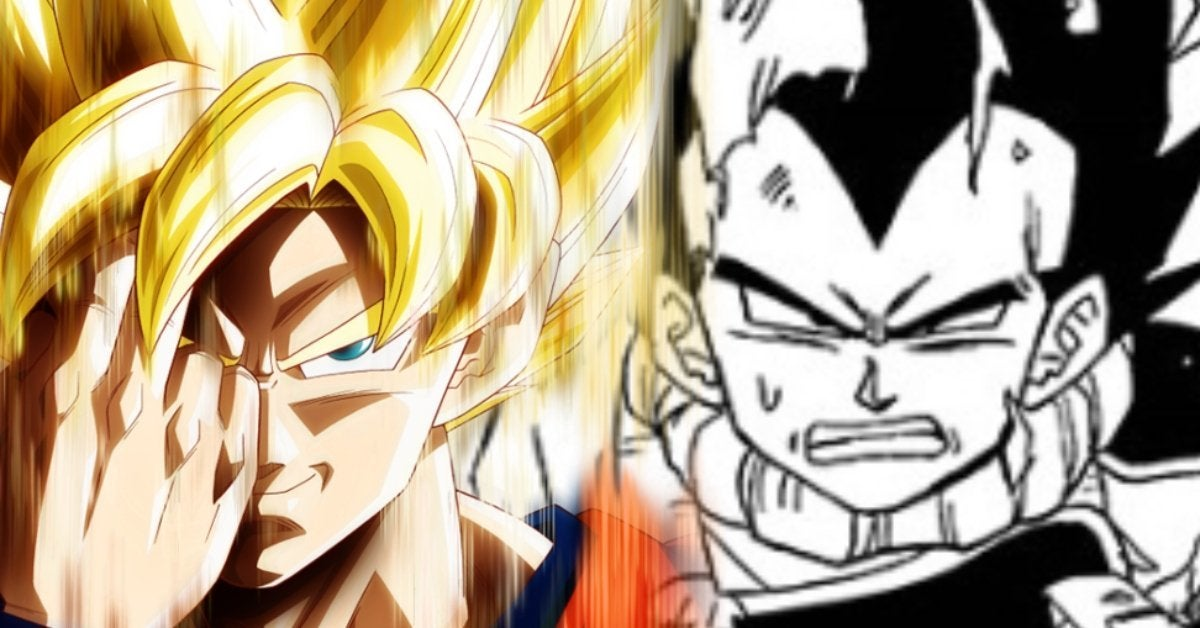 Dragon Ball Super Vegeta Instant Transmission Fails