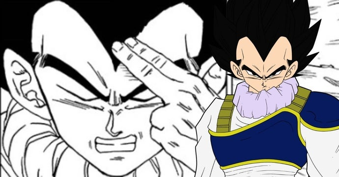 Dragon Ball Super Vegeta Instant Transmission Manga