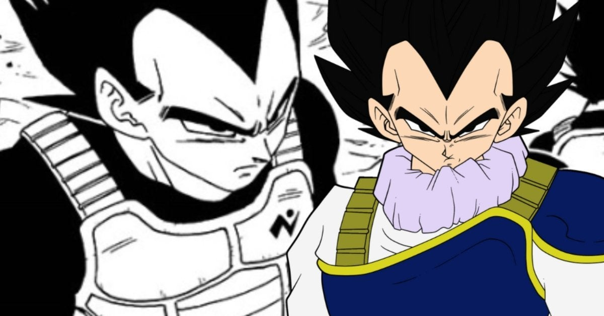 Dragon Ball Super Vegeta Prodigy Status Manga