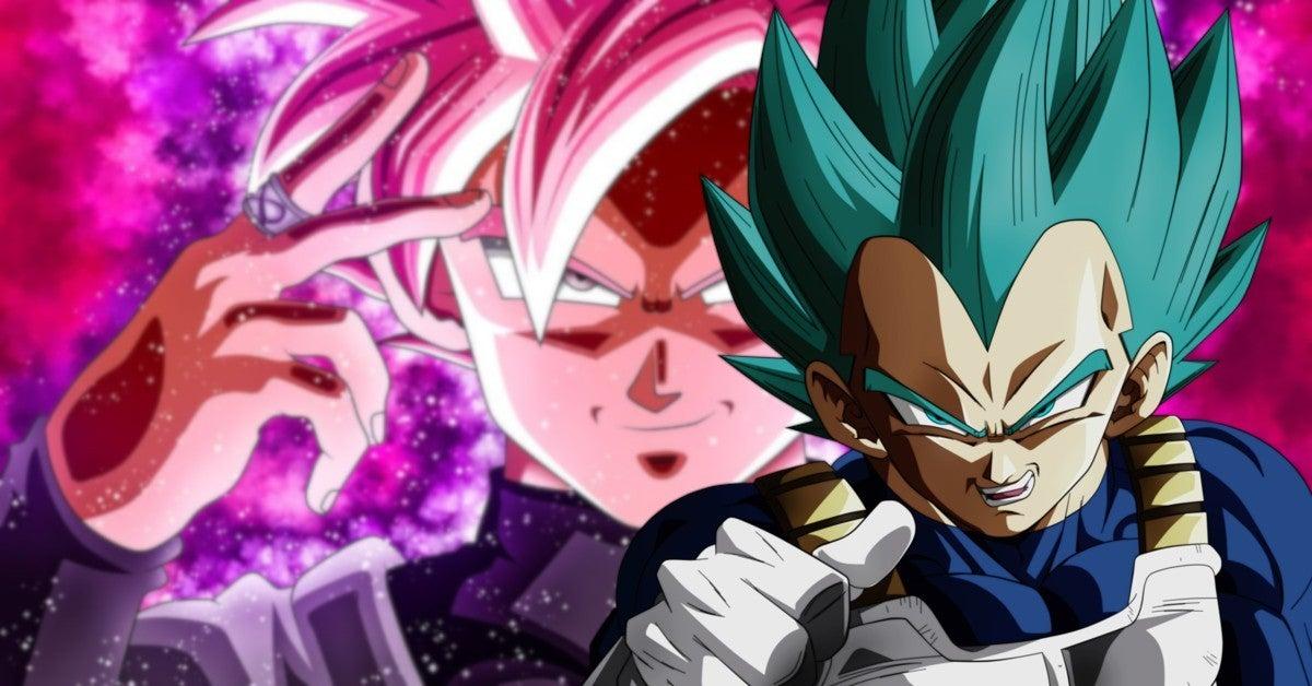 Dragon Ball Super Vegeta Super Saiyan Rose artwork