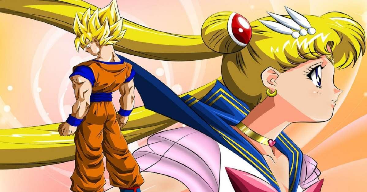 Dragon Ball Z Sailor Moon