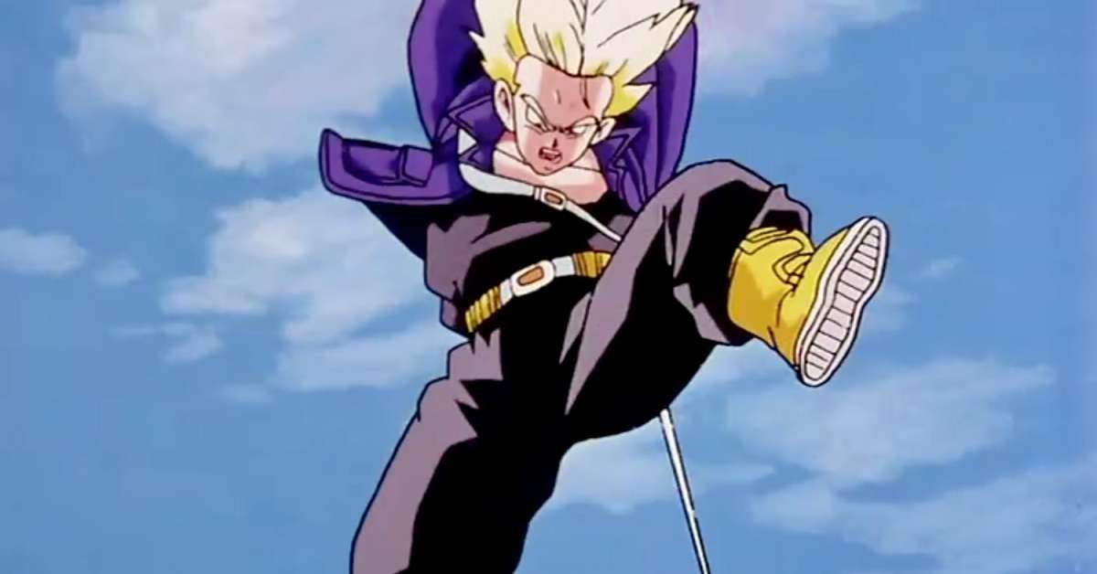 Dragon Ball Z Trunks Battle