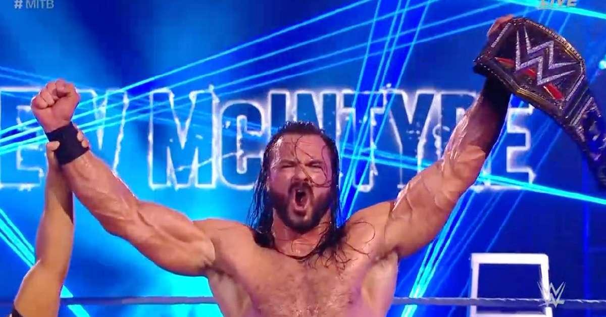 Drew McIntyre Win Seth Rollins WWE