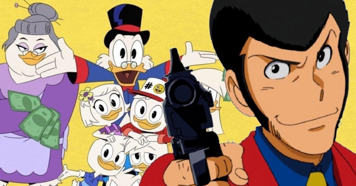 Ducktales Lupin III