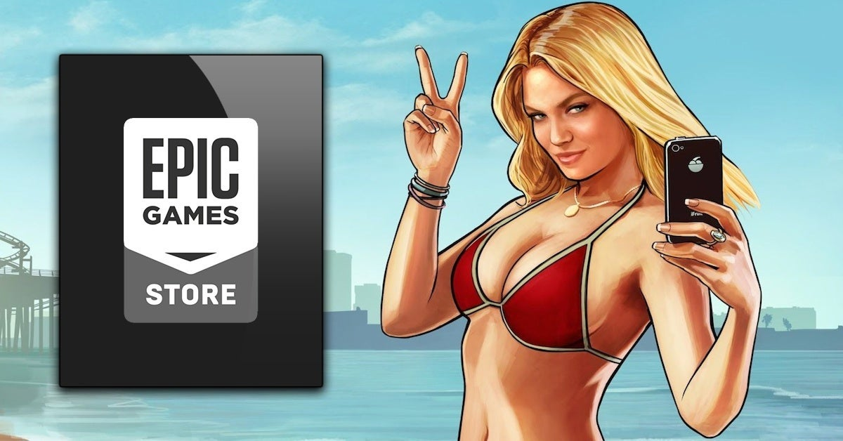 epic games store grand theft auto gta 5 v