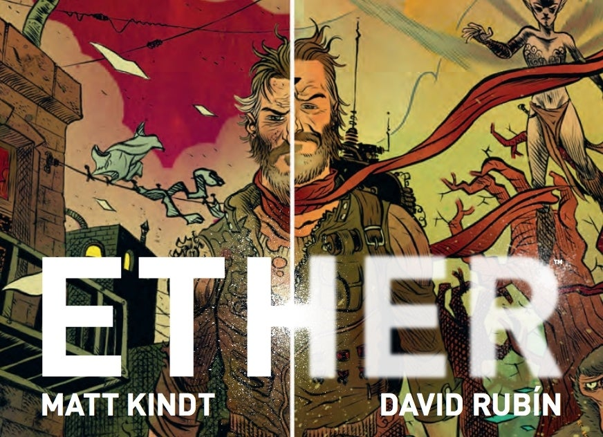 ether 1 dark horse comics cover