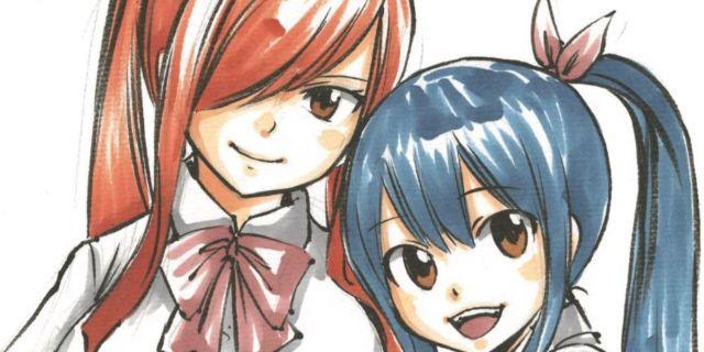 Fairy Tail Erza Wendy Hiro Mashima Art