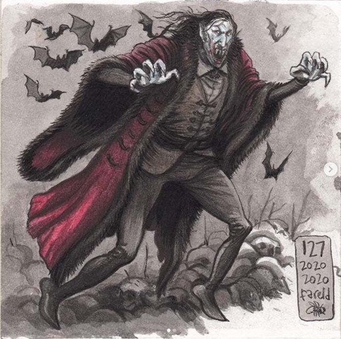 Farel Dalrymple - Dracula