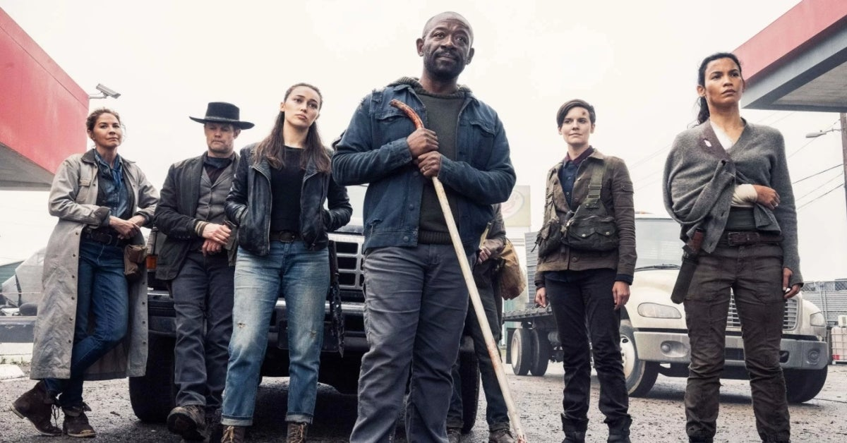 Fear the Walking Dead Lennie James Morgan Jones