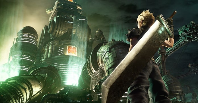 final fantasy 7 remake cloud art new cropped hed