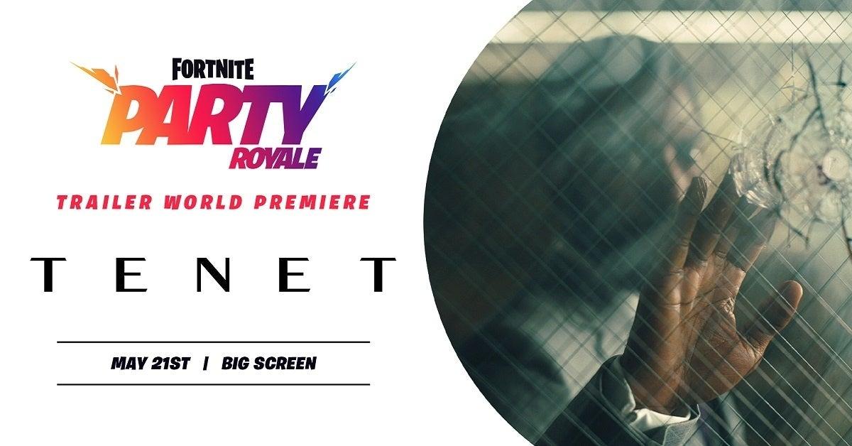Fortnite Tenet Trailer