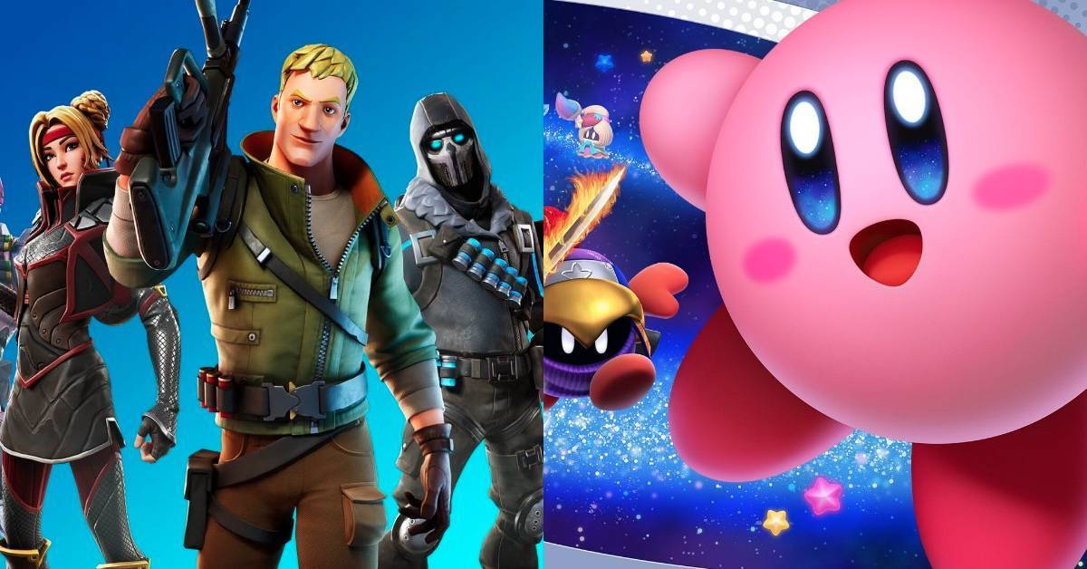 Fortnite x Kirby