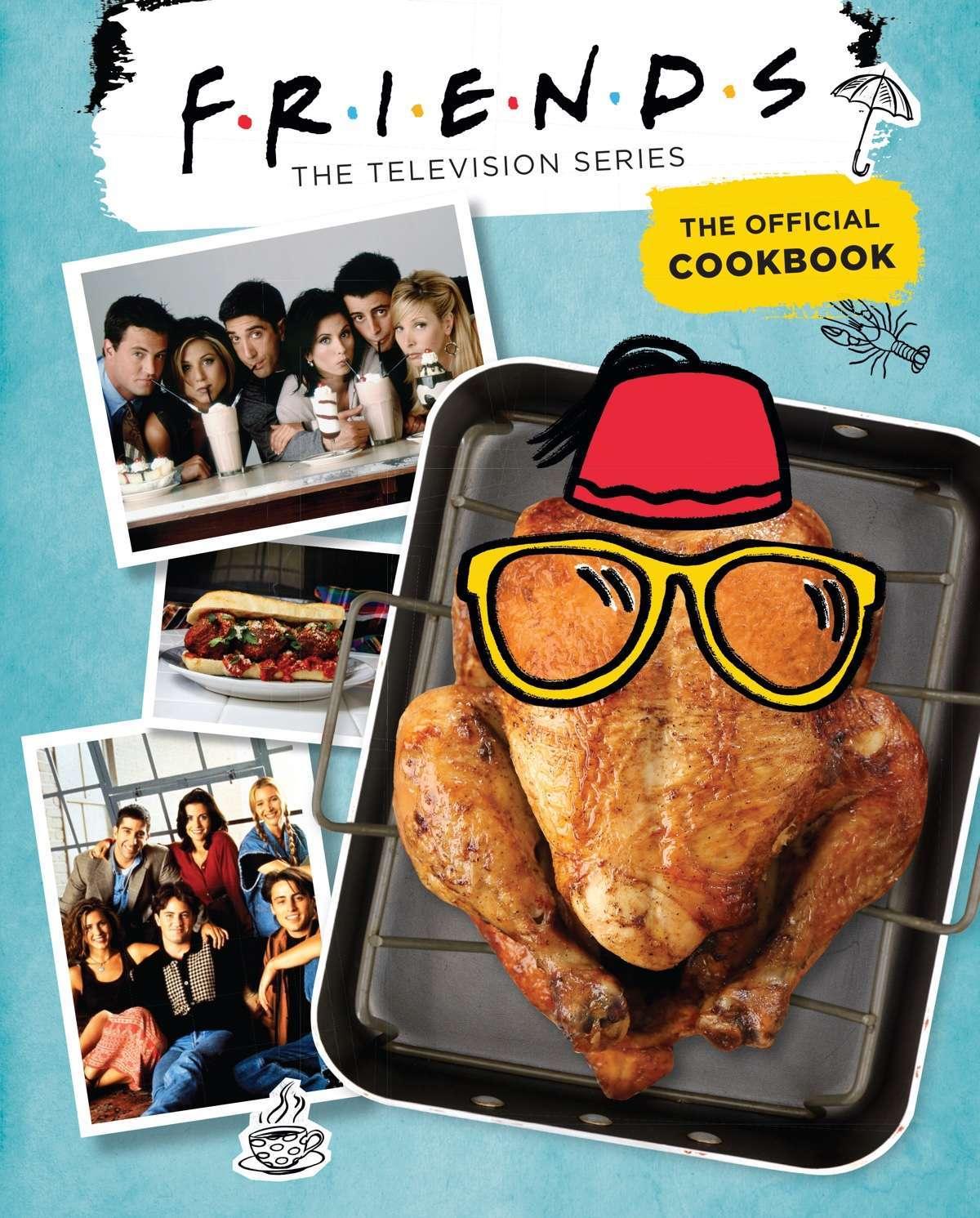 Friends Cookbook Cover