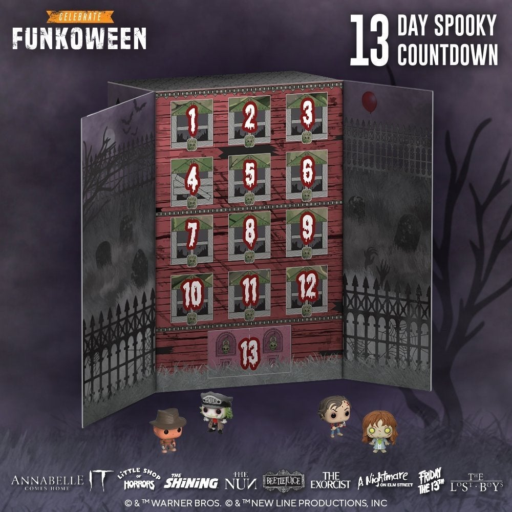 Halloween Funko Pop 2020 Funko Halloween Pop Figure Advent Calendar Launches for Funkoween