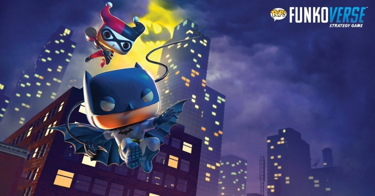 Funko Fans Will Love These Batman Funkoverse Zoom Backgrounds