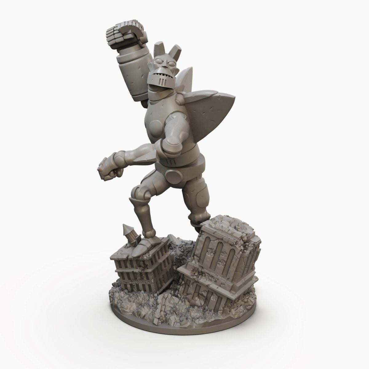 giant robot hellboy image
