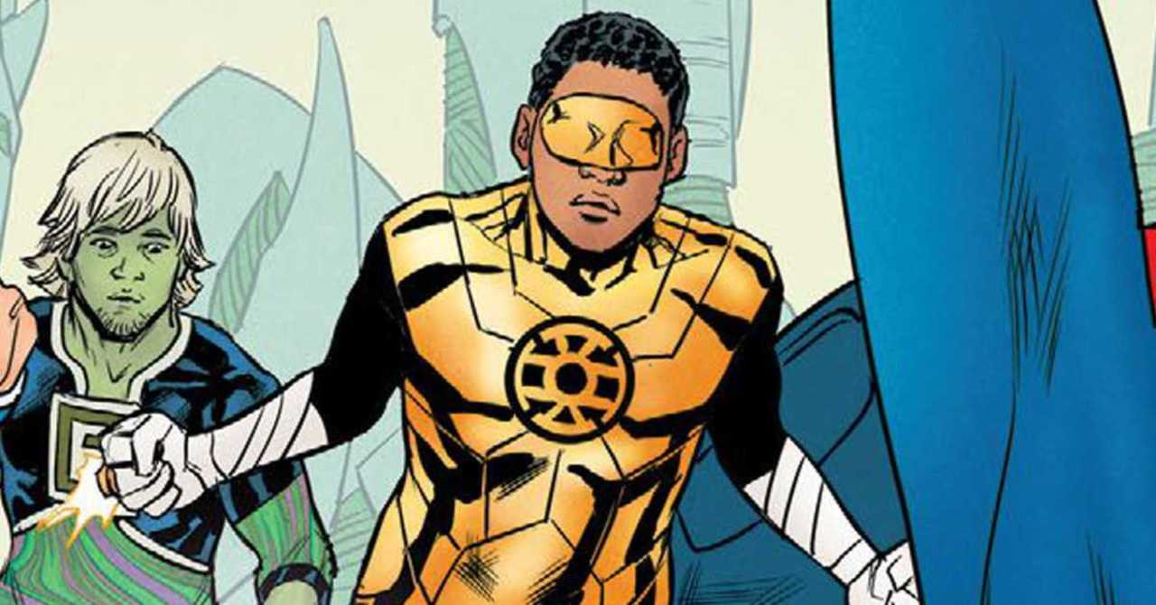 Gold Lantern Set to Debut in Legion of Super-Heroes From DC Comics