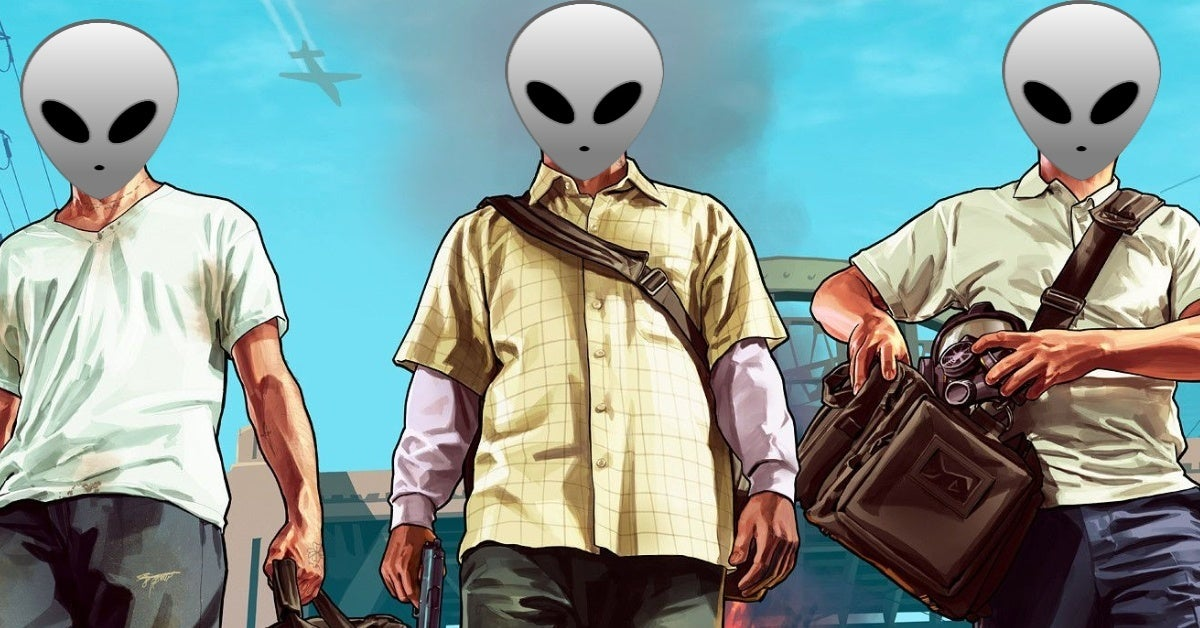 grand theft auto gta aliens