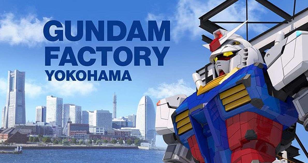 Gundam Moving Statue Delayed COVID