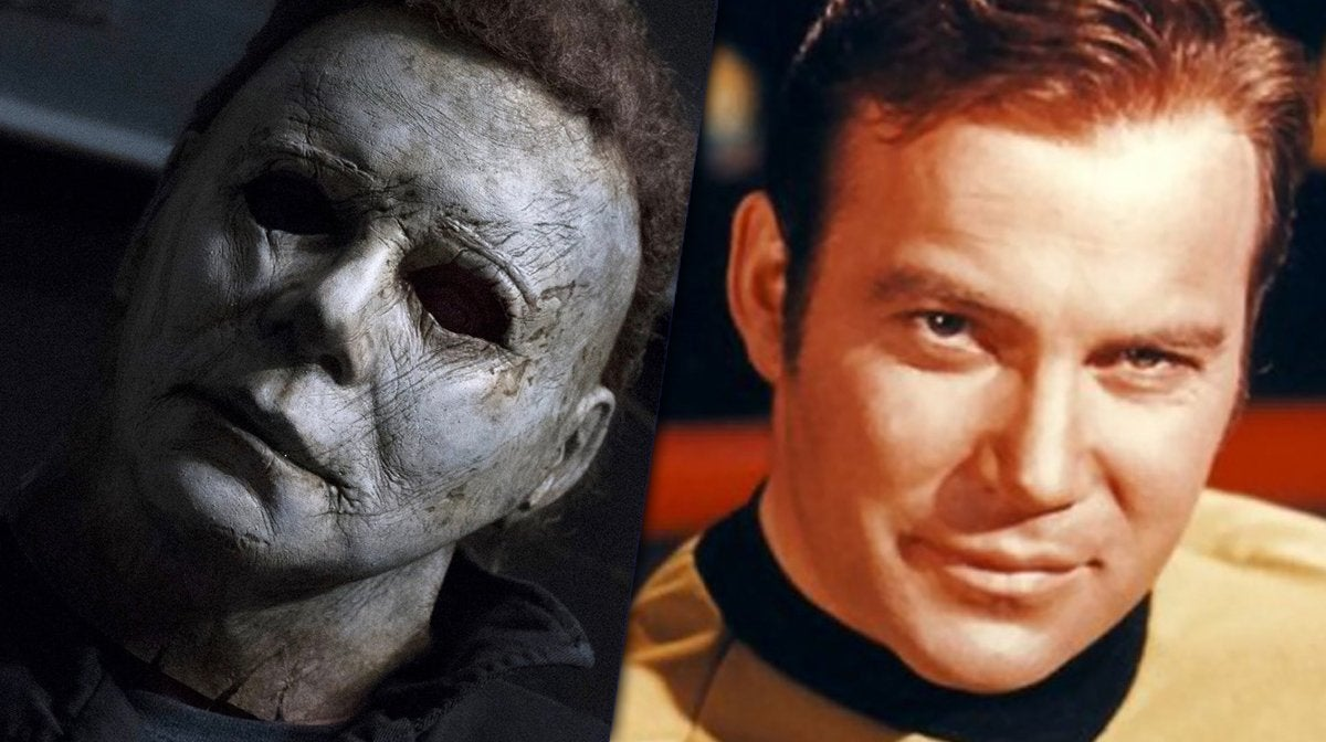 halloween mask william shatner michael myers