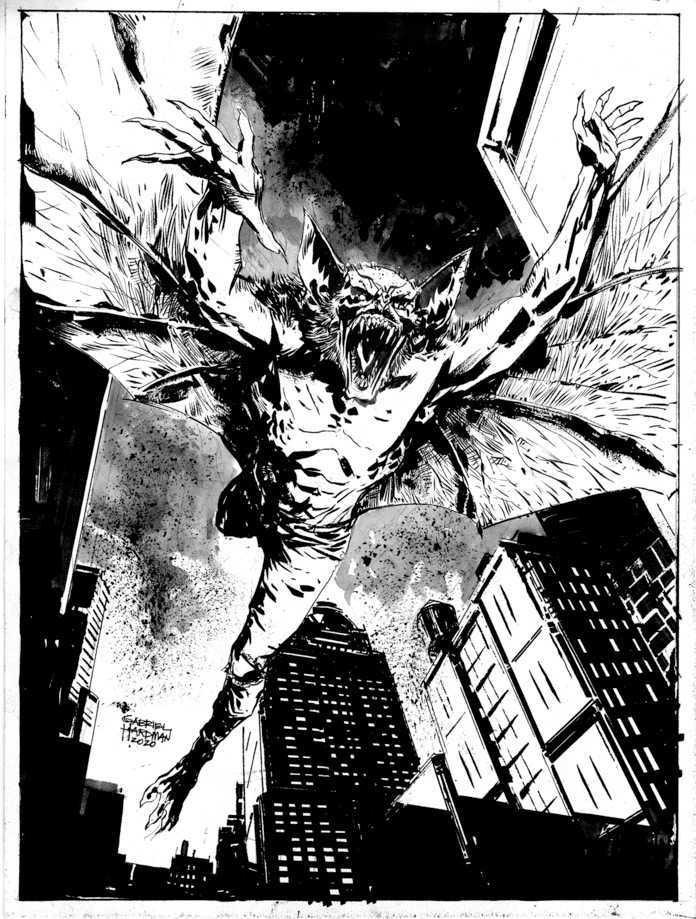 Hardman Gabriel - Man Bat