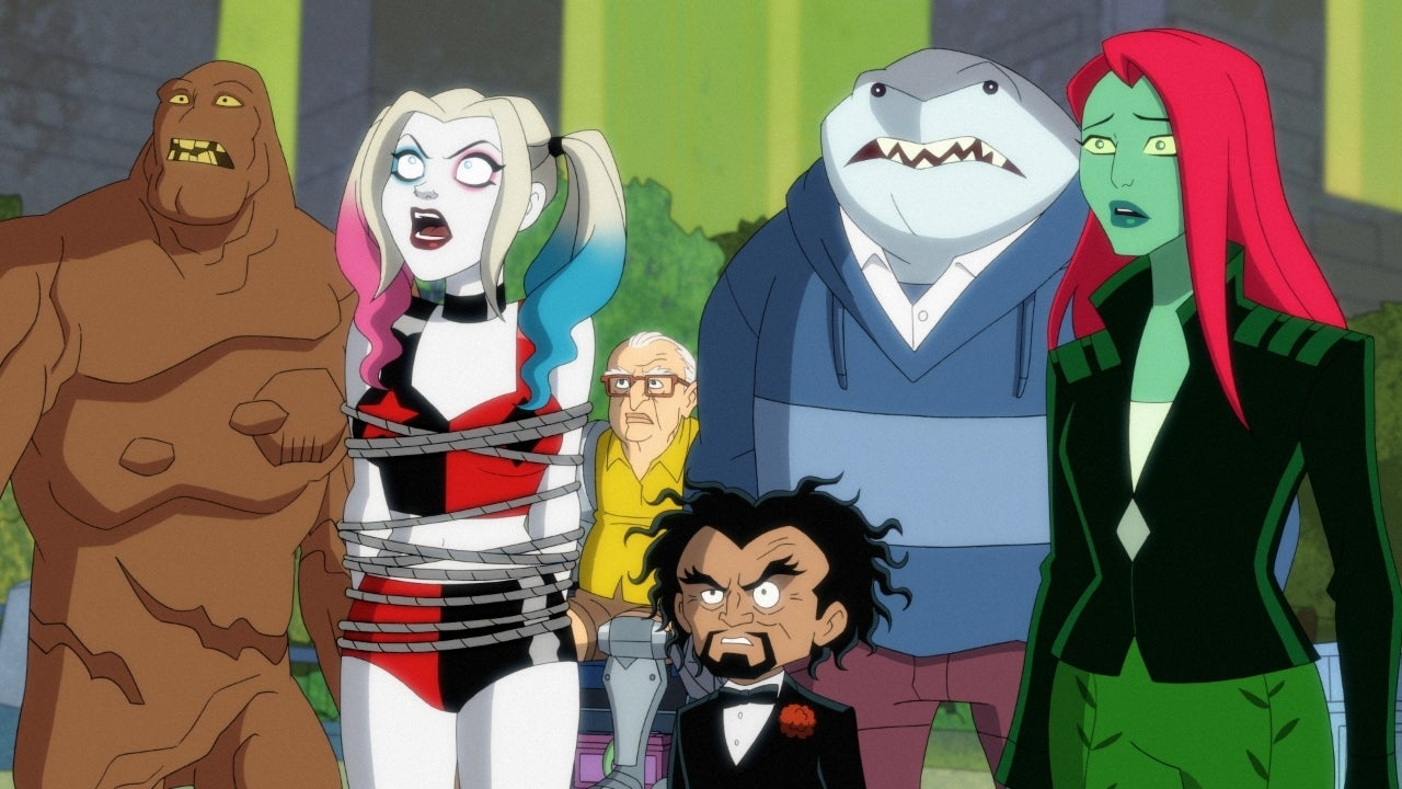 harley quinn series cartoon