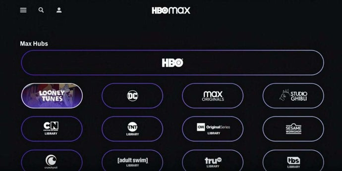 HBO Max Library