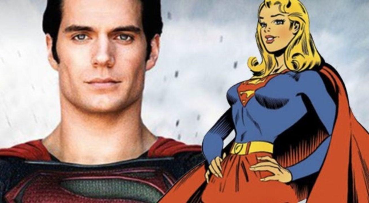 henry cavill superman supergirl