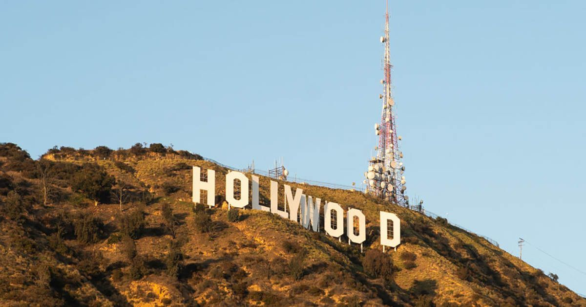 hollywood sign getty images