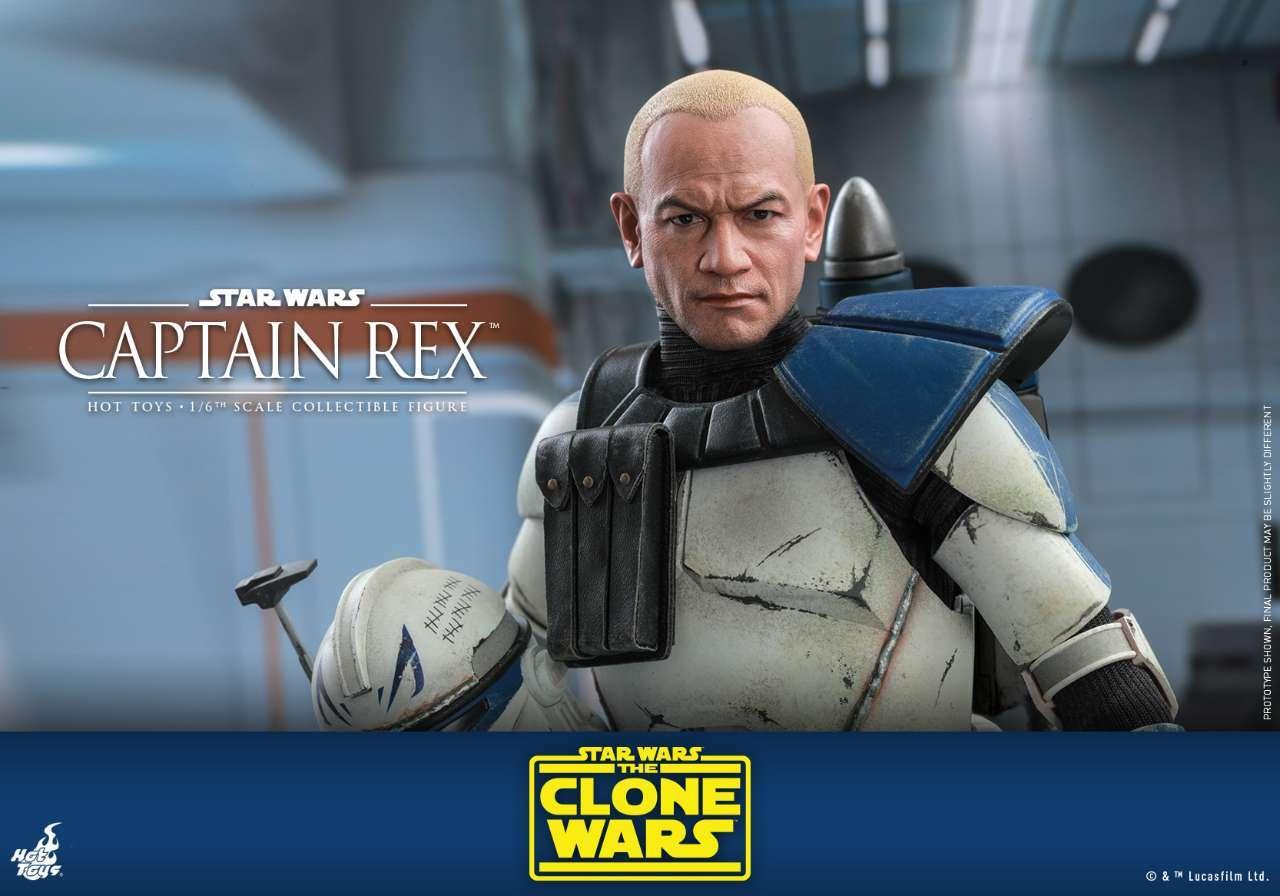Hot Toys - SWCW - Captain Rex Collectible Figure_PR21