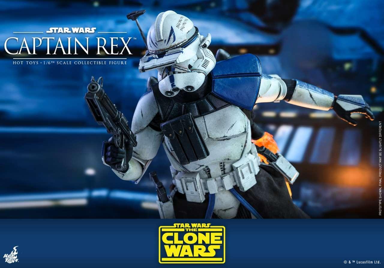 Hot Toys - SWCW - Captain Rex Collectible Figure_PR22