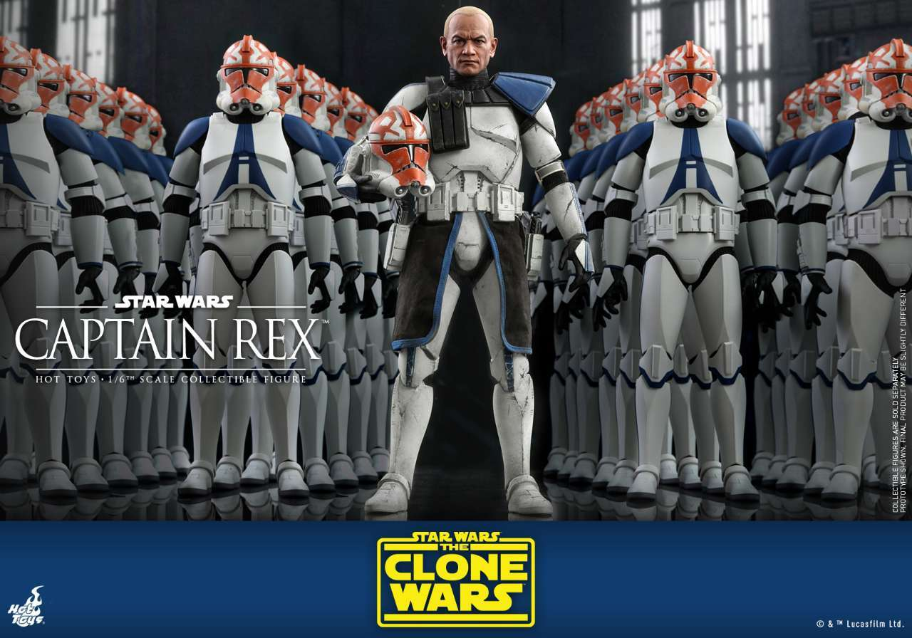 Hot Toys - SWCW - Captain Rex Collectible Figure_PR3