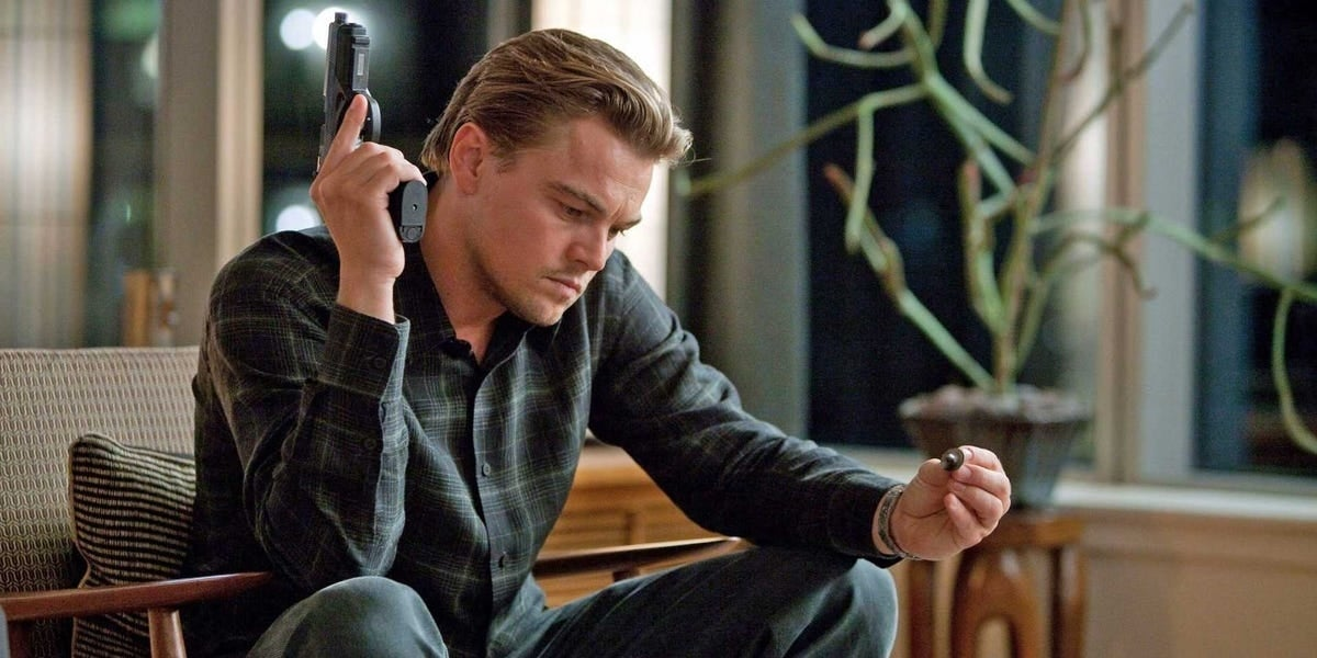 inception leo dicaprio