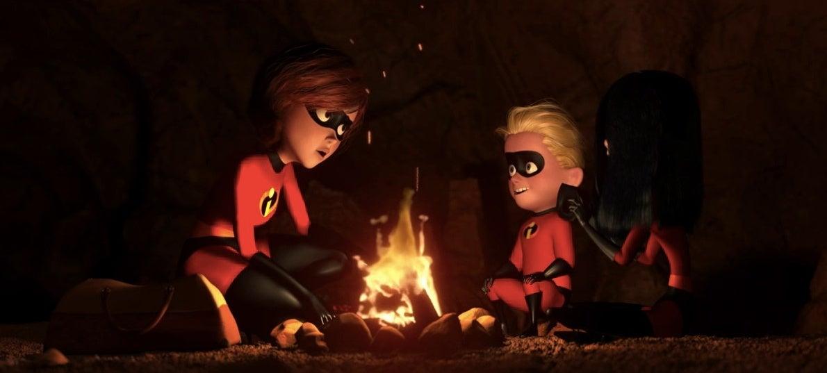 incredibles family pixar