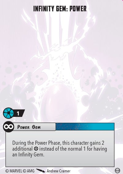 Infinity Gem Power Rules