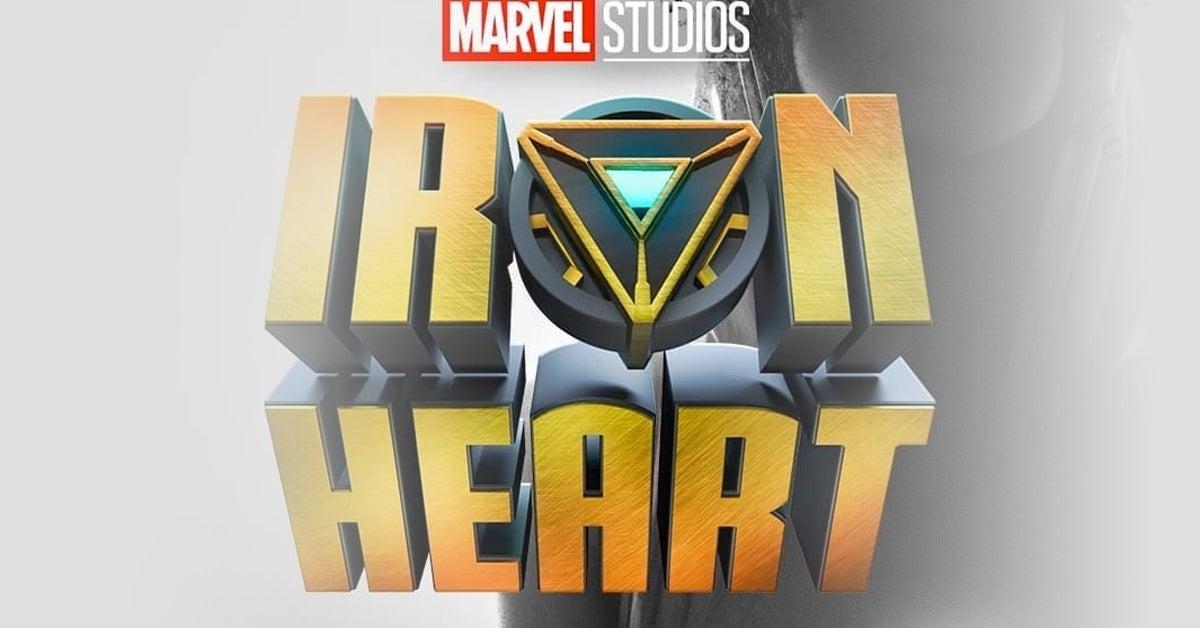 iron heart logo disney plus