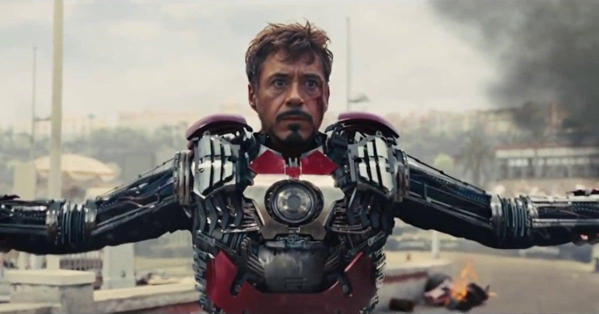 Iron Man 2 Suitcase Armor Mark V ALternate Design Concept Art Marvel Studios