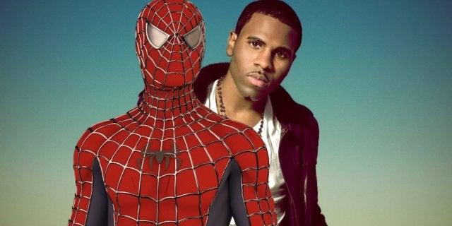 Jason Derulo Becomes Spider-Man TikTok Wipe It Down Challenge NSFW
