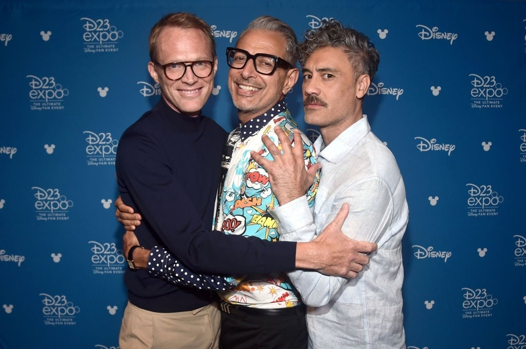 jeff goldblum taika waititi d23