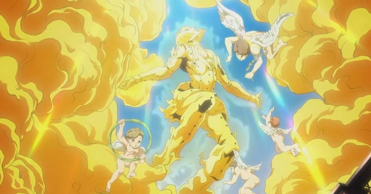 JoJo's Bizarre Adventure Golden Wind Angel Bucciarati