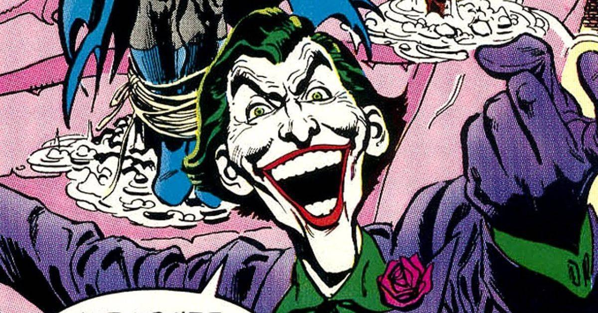 joker origin comic batman giant #5
