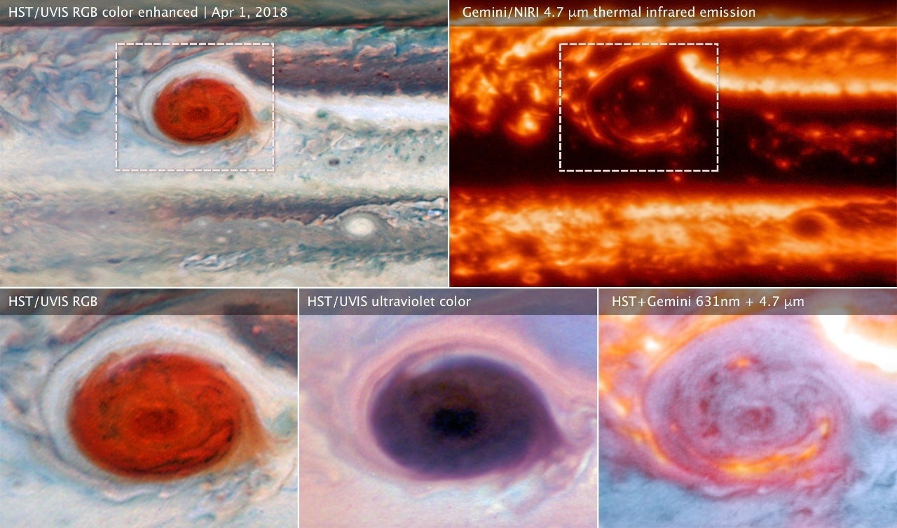 jupiter big red spot