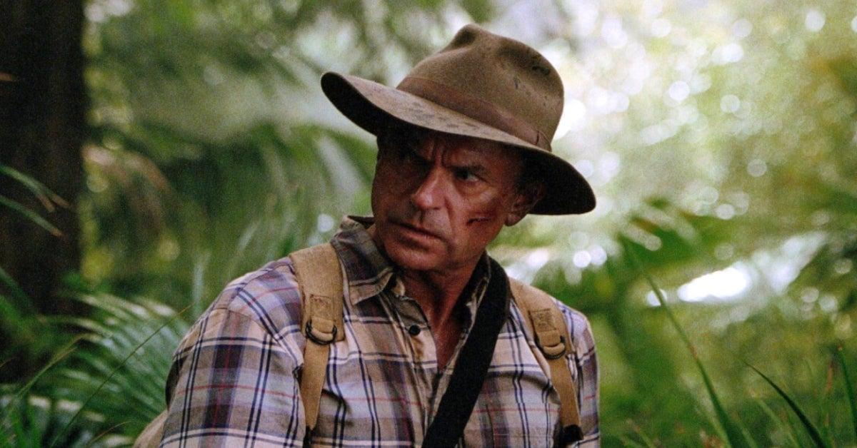 Jurassic Park 3 Sam Neill
