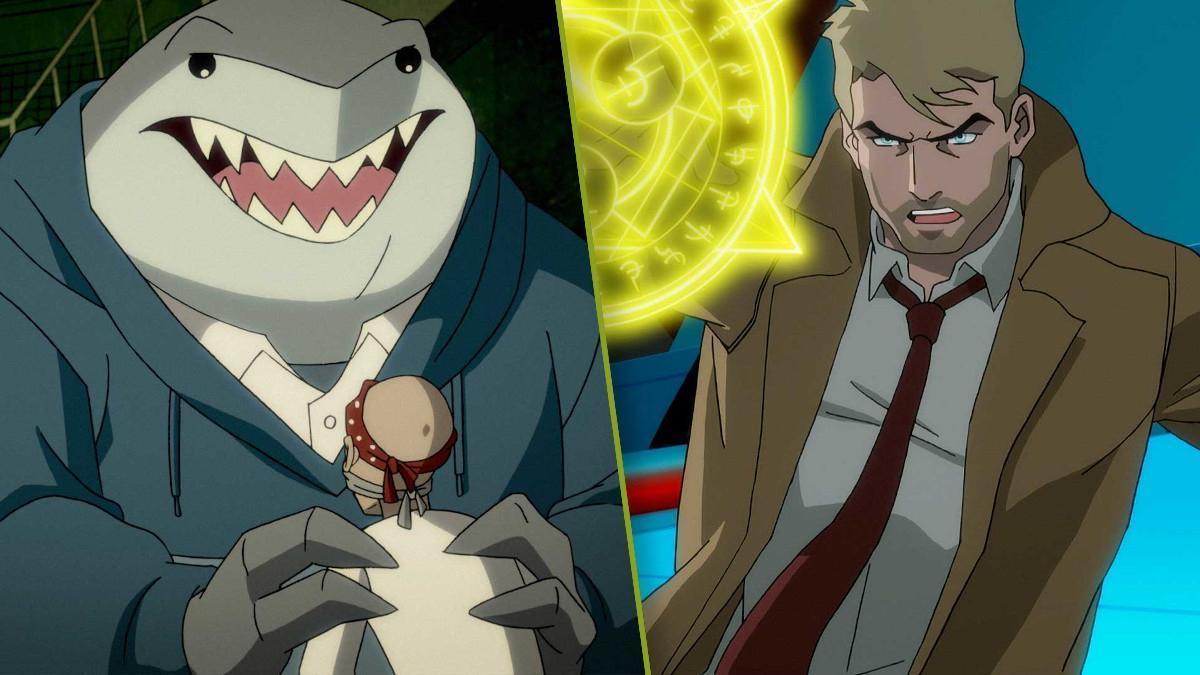 Justice League Apokolips War Constantine King Shark