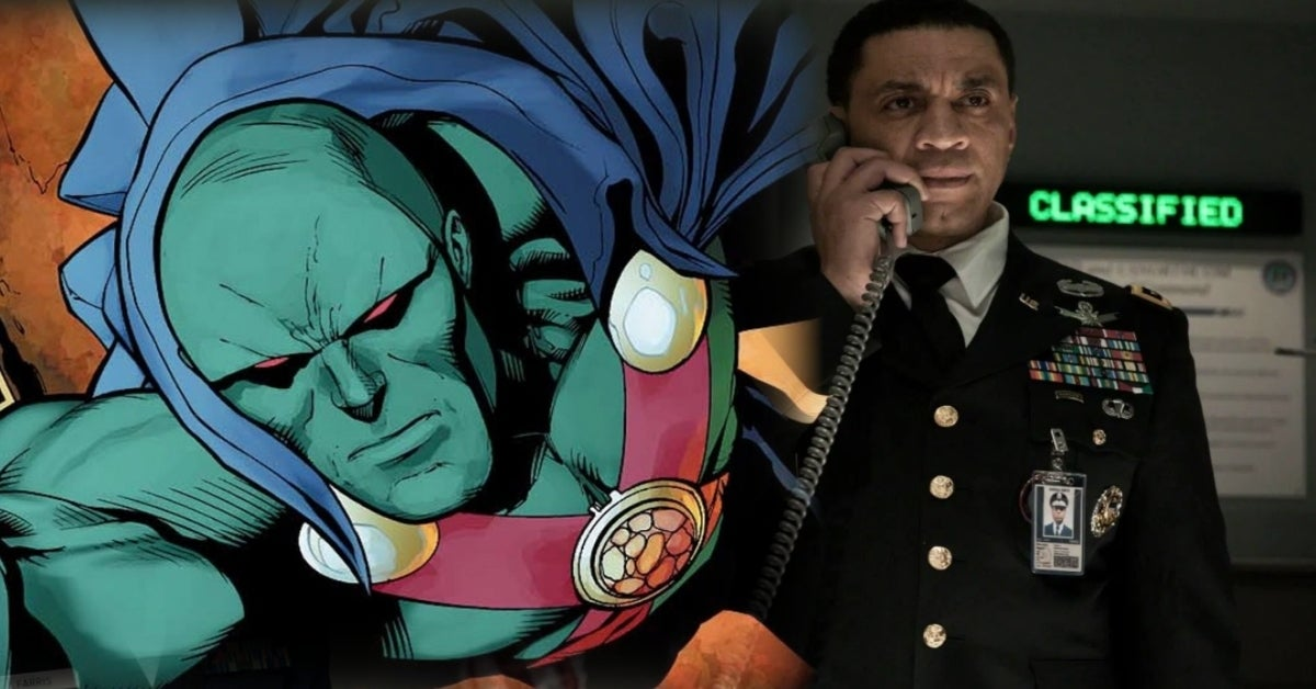 Justice League Martian Manhunter Swanwick Harry Lennix comicbookcom