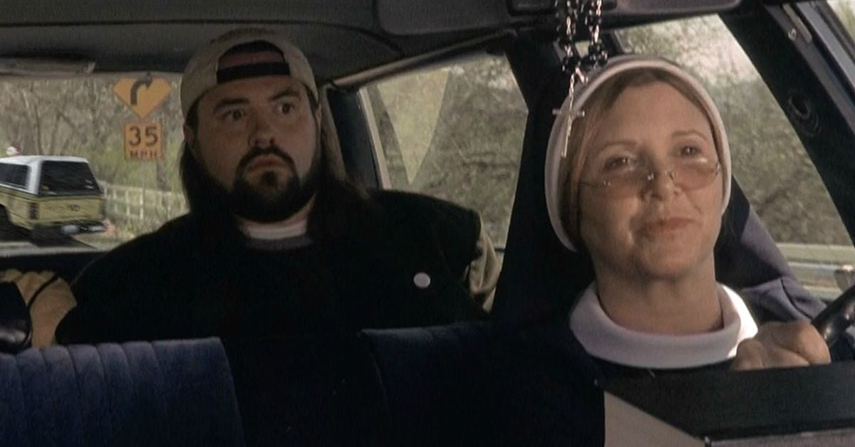 kevin smith carrie fisher memorial