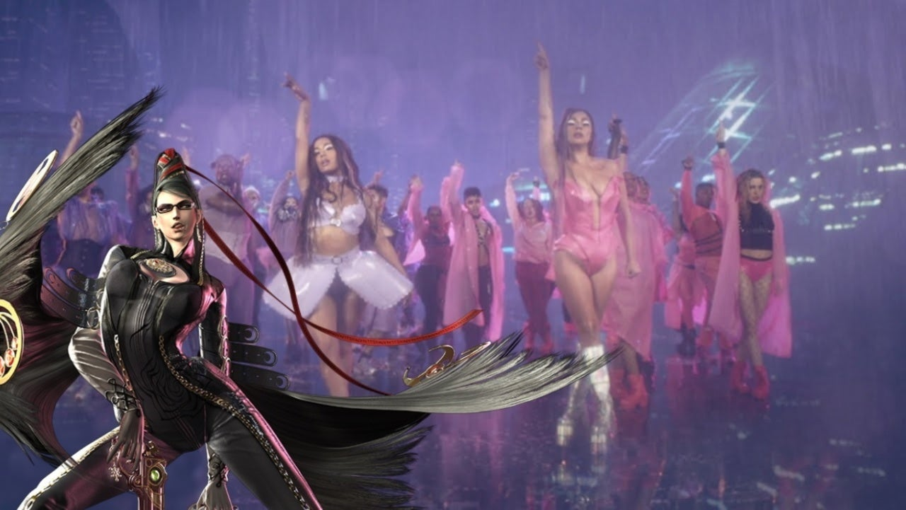 """Lady Gaga's """"Rain on Me"""" Music Video Appears to Include a Bayonetta Homage"""